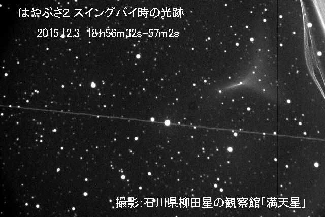柳田星の観察館「満天星」撮影
